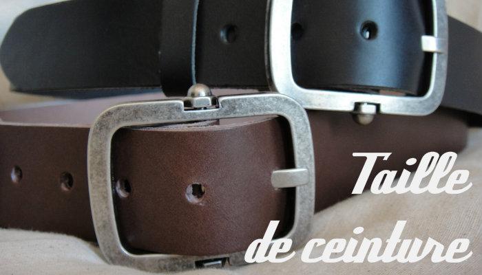 Taille de ceinture