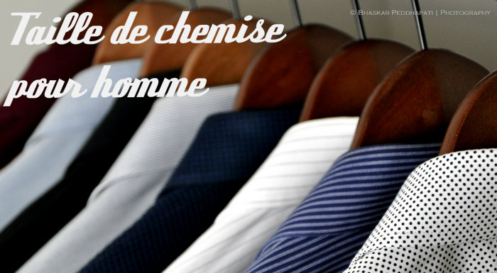 Taille chemise homme
