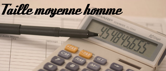 Taille moyenne homme
